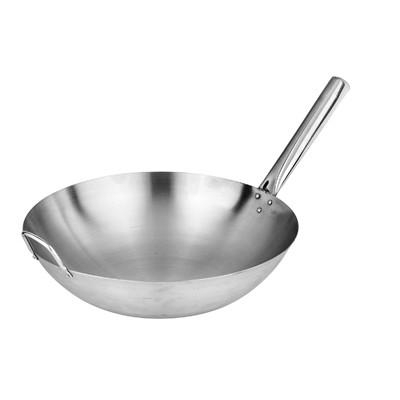 不锈钢 炒锅