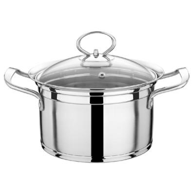 瑞诚不锈钢高升汤锅加厚复底单人小火锅奶锅多用汤锅电磁炉专用锅