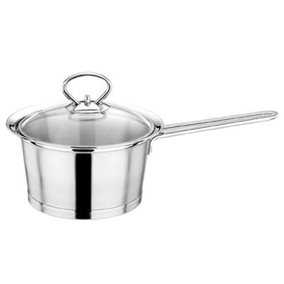 304不锈钢婴儿煮奶锅辅食锅小汤锅加厚复底电磁炉艺厨奶锅