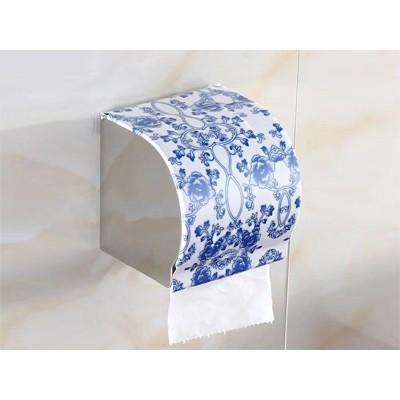 K8青花瓷 纸巾盒