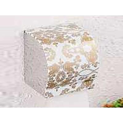 K8金花瓷 纸巾盒