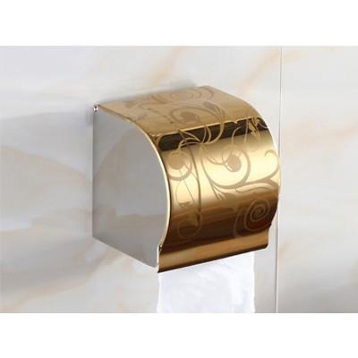 K8螺旋金 纸巾盒