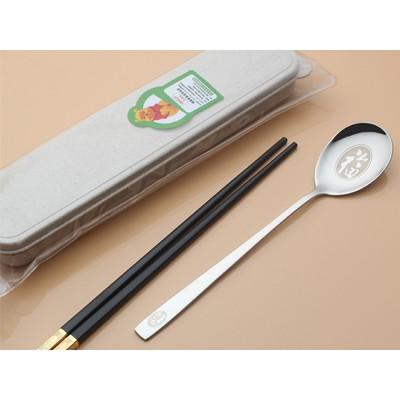 汤匙塑料筷套装