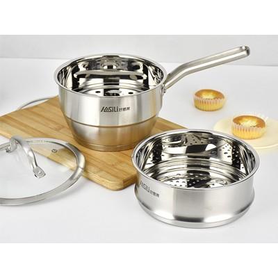 子蛋奶锅、汤锅、蒸锅