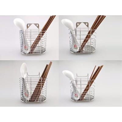 不锈钢筷子筒 5