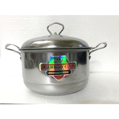 不锈钢柄汤锅