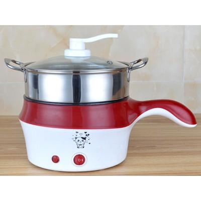 不锈钢电热奶锅(红)