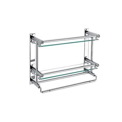 置物架  A1 双层玻璃无钩