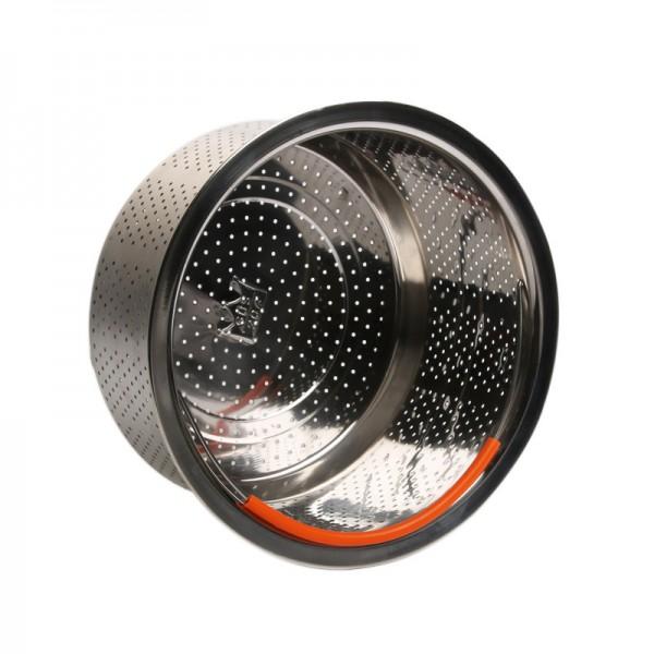 304不锈钢无磁蒸笼格蒸篮蒸饭器加厚加深高压锅蒸汽笼水果篮提篮 (1)