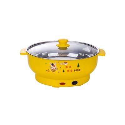 电煮锅  黄色