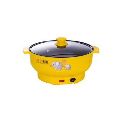 电煮锅 黄色 2