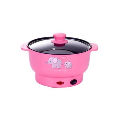 电煮锅 粉色 2