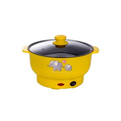 电煮锅 黄色 3