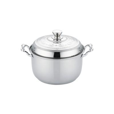 复合钢欧式汤锅