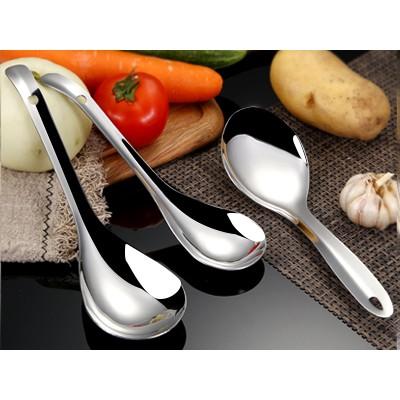 不锈钢饭勺家用大号不粘米饭饭铲饭店盛饭加厚分餐米饭