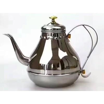 不锈钢宫廷壶