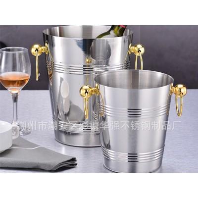 厂家直销不锈钢冰酒桶 豪华香槟桶 一体成型绝不漏水