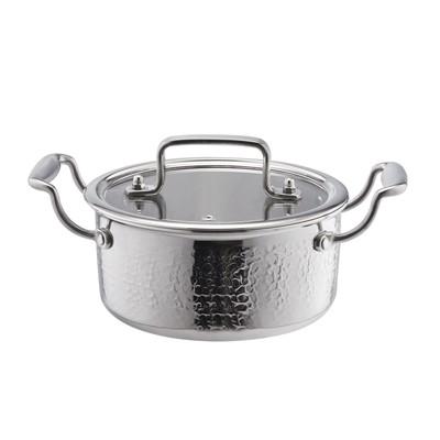 五层锤纹汤锅
