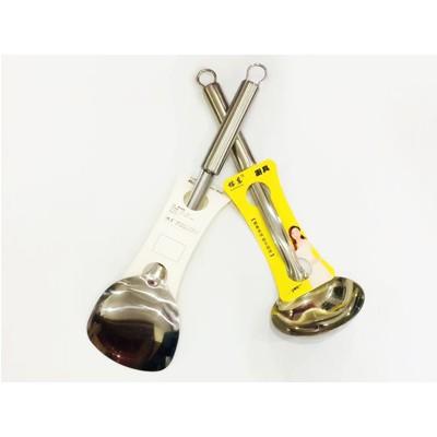 1.5厘无磁不锈钢铲勺厨房耐热加厚用具汤勺烹饪勺铲套装批发