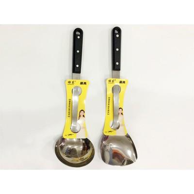 三厘加厚不锈钢厨具套装欧式三珠烹饪铲勺不锈钢锅铲餐具批发
