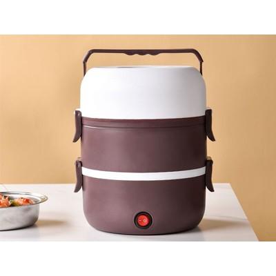 电热蒸饭盒 紫色