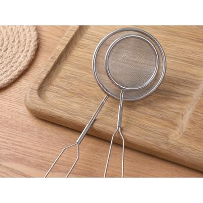 不锈钢漏勺过滤网勺捞面勺油炸勺家用厨房大号漏勺捞勺捞残渣漏网