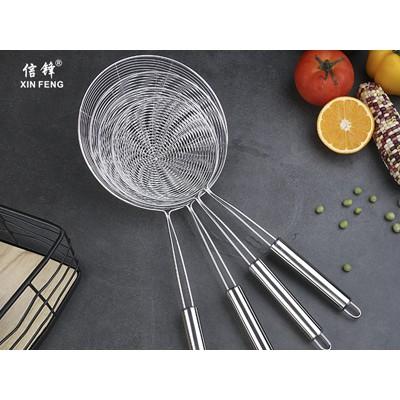 不锈钢网漏 线柄网漏 手持面粉筛 烘焙工具糖粉筛烘焙工具筛子