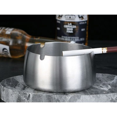 抖音不锈钢烟灰缸 创意家用网吧酒店客厅ktv欧式烟灰缸