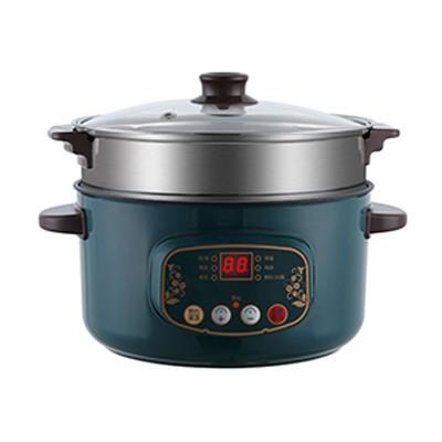 电煮锅墨绿色