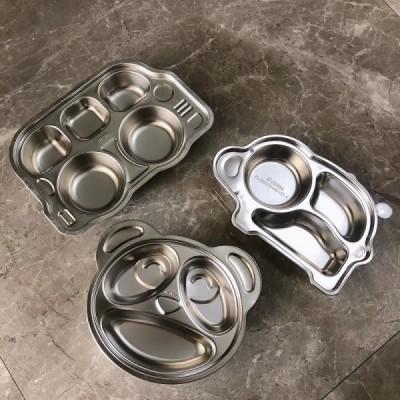 304不锈钢儿童餐盘