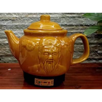 老人头 陶瓷养生壶