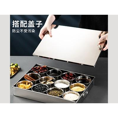 不锈钢味盒 调料盒 日式调味盒