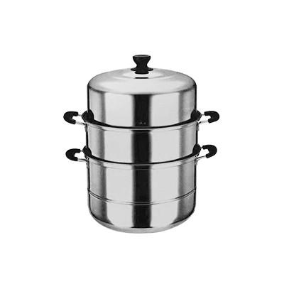 不锈钢三层蒸锅